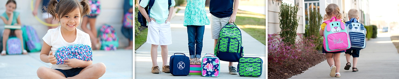 Personalized Backpacks and Lunchboxes for Kids