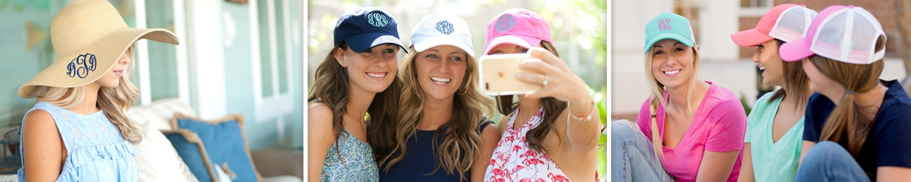 Personalized Hats for Ladies