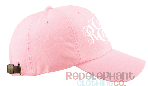 monogram baseball hat for kids