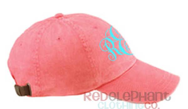 seersucker baseball cap monogram ladies monogrammed caps hat etsy