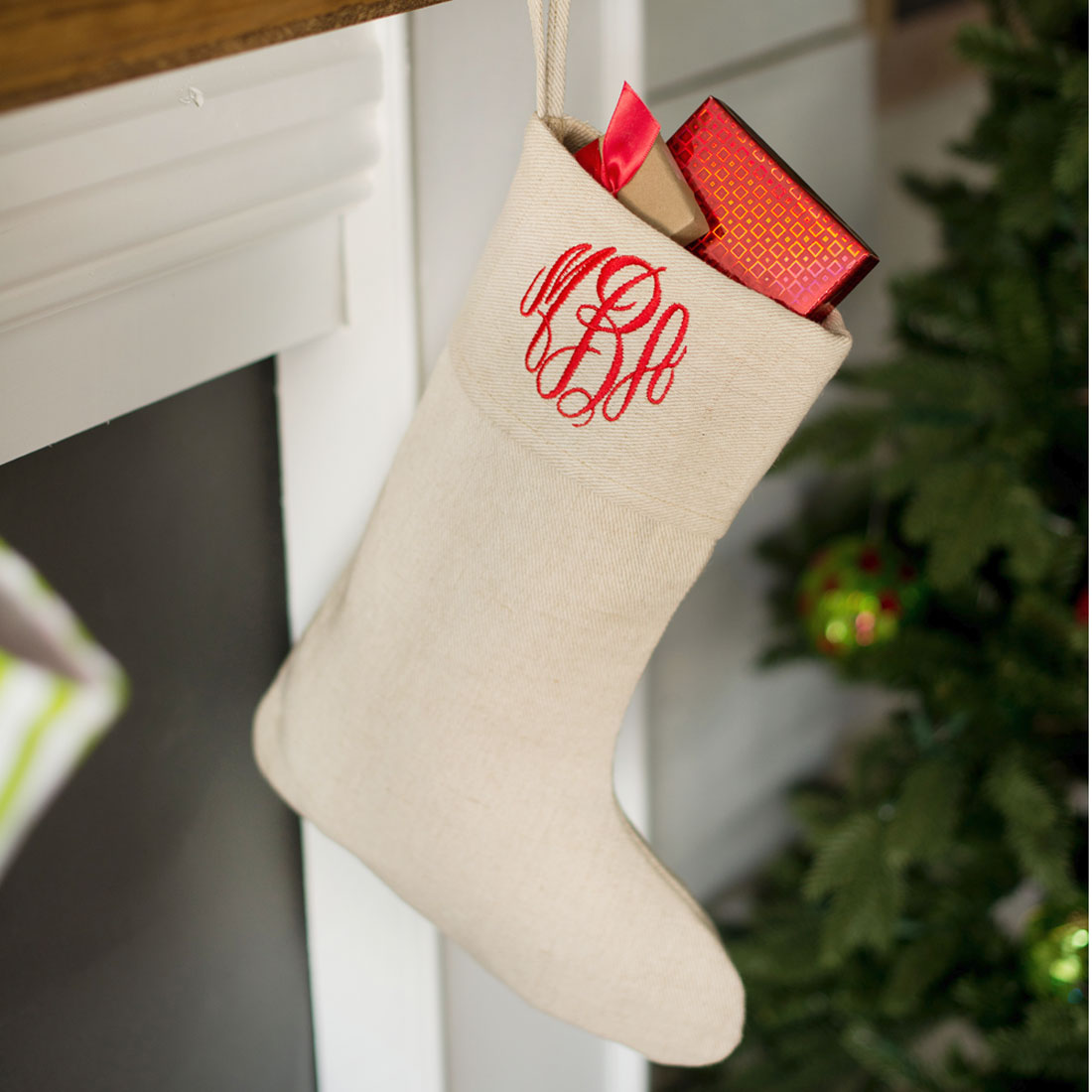 Monogrammed Christmas Stockings Part - 28: Juco Christmas Stocking | Monogrammed Christmas Stockings | Personalized Christmas  Stocking.
