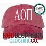 Alpha Omicron Pi hat