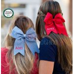 Monogrammed Hair Bow