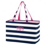 Ultimate Tote - Navy Stripe