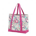 Monogram Tote Bag - Paisley