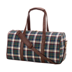 Avery Plaid Duffel Bag