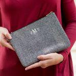 Monogrammed Cosmetic bag