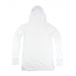 White Workout Hoodie