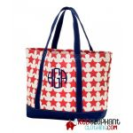 Monogram Tote Bag - Stars