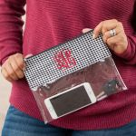 Game Day Clutch - Houndstooth