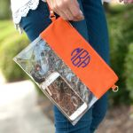 Game Day Clutch - Orange