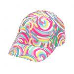 monogrammed baseball cap - Sorbet