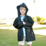 Monogrammed Rain Jacket for Kids