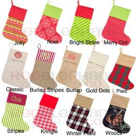 Christmas Stockings for the family