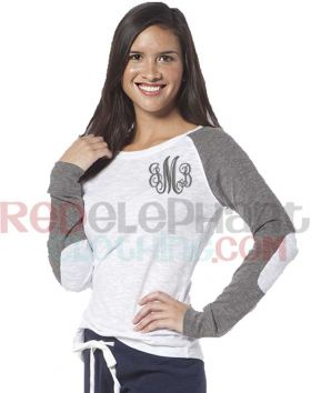 Monogram Raglan Shirt