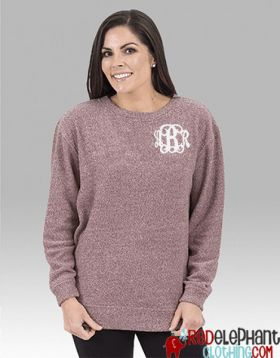 Monogrammed Terry Loop Sweatshirt
