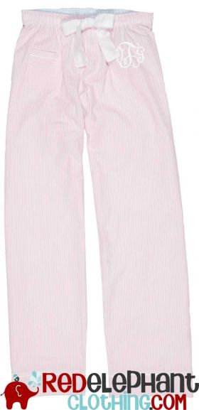Seersucker Pajama Pants