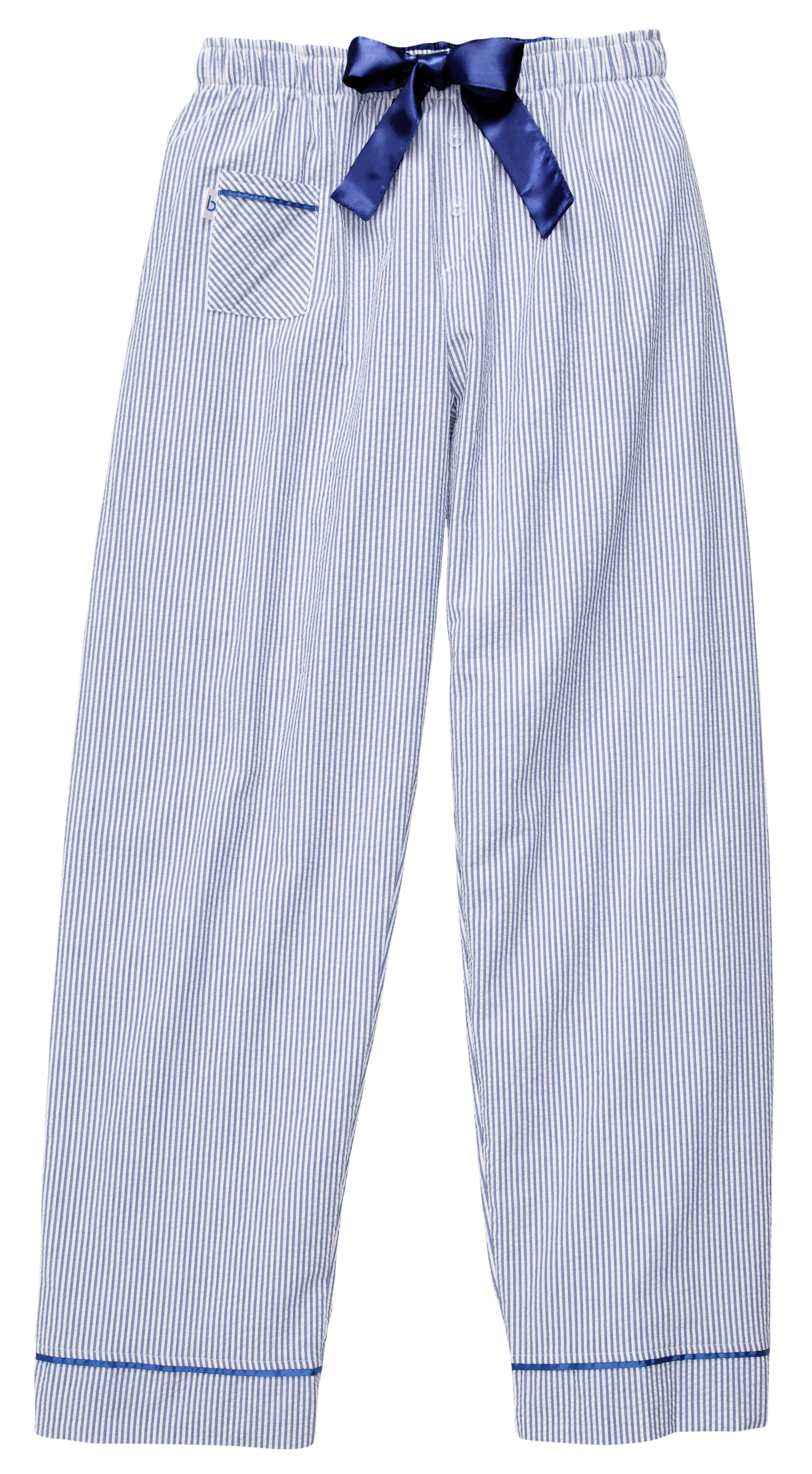 Women S Seersucker Pants Monogrammed Pajama Pants Navy