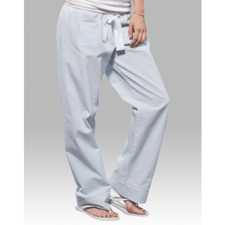 Women S Seersucker Pants Monogrammed Pajama Pants Purple