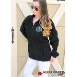 Monogrammed Fleece Jacket