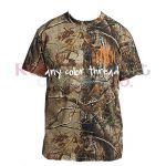 Monogrammed Camo Shirt