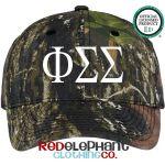Phi Sigma Sigma  cap