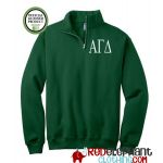 Alpha Chi Omega Zip Sweatshirt