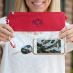 Game Day Clutch - Red