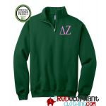Delta Zeta Zip Sweatshirt