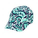 monogrammed baseball cap - Waves