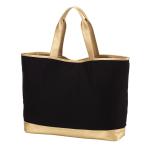 Canvas Tote Bag - Black