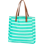 Monogram Mint Tote Bag
