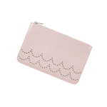 Monogram Crossbody - Blush