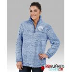 Monogrammed Pullover Jacket