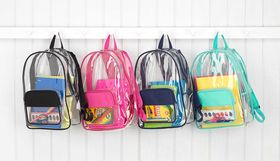 Clear Book Sacks
