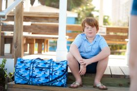 monogrammed duffle bags for boys,