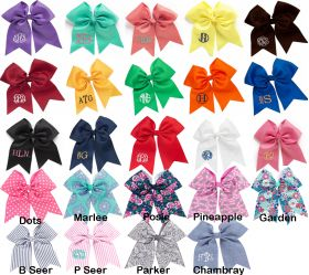 Hair bow color options