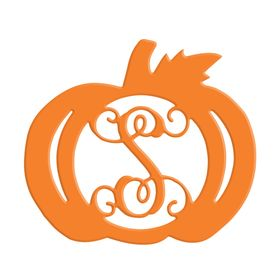 Unpainted Wooden Pumpkin