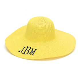 Yellow Floppy Hat