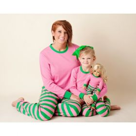 Pink Green Pajamas