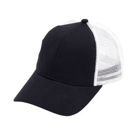 monogrammed trucker cap - Black