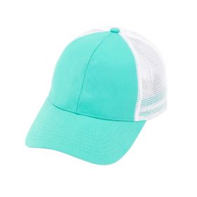 monogrammed trucker cap - Mint