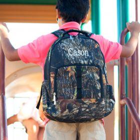 Monogramed Backpack