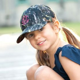 Monogrammed Camo Hat
