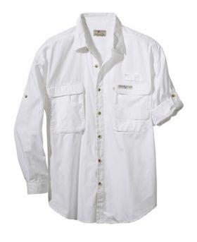 White Fishing Shirt