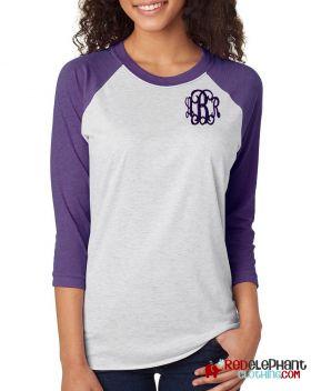 Monogram Raglan Shirt