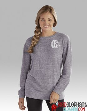 Monogrammed Terry Loop Sweatshirt