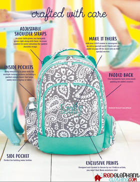 personalized book sack
