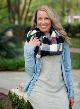 infinity Scarf - Checked