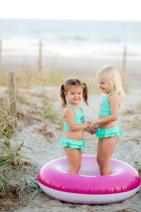 monogrammed swimsuit cover up